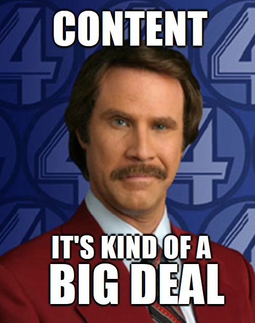 Content Is a Big Deal